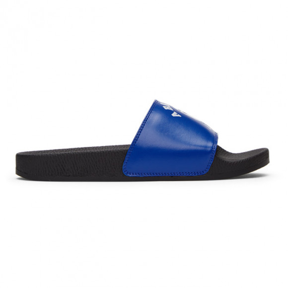 BAPE Blue College Slides - 001FWG201011XBLU