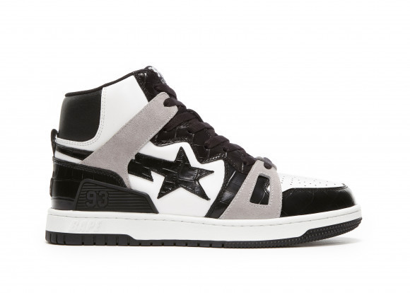 A Bathing Ape Bape Sta 93 Hi Black Light Grey - 001FWG701035X