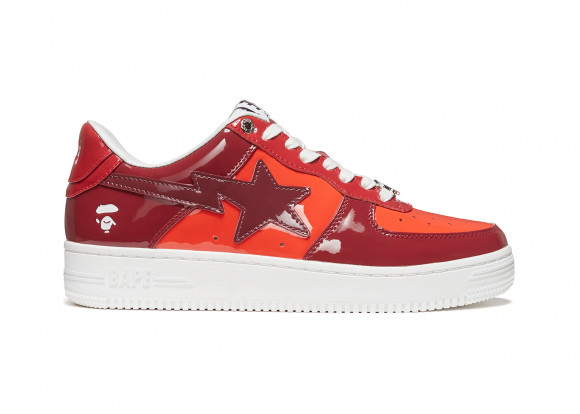 A Bathing Ape Bape Sta Color Camo Combo Red - 001FWH201046_RED