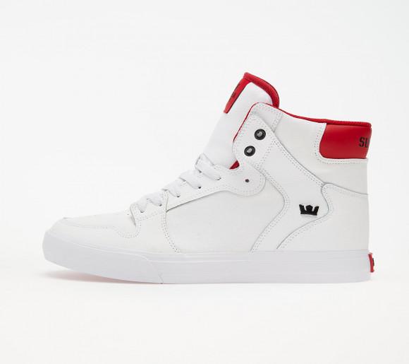 Supra Vaider White/ Red-White - 08044-148-M