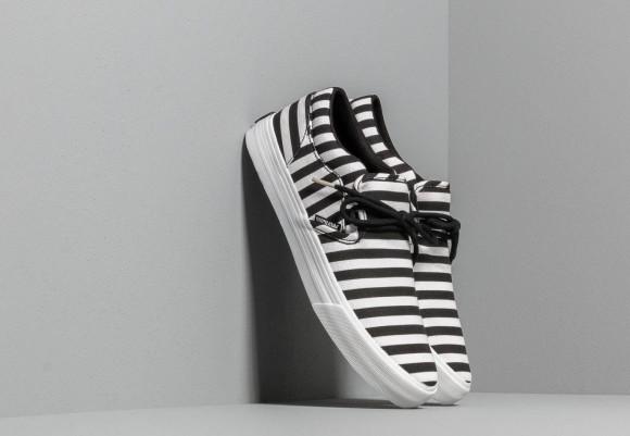 Supra Cuba Black/ White Stripe - 08105-027-M