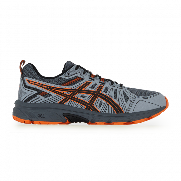 Gel-venture 7 Asics Gris/orange 42,5 Male - 1011A560-023