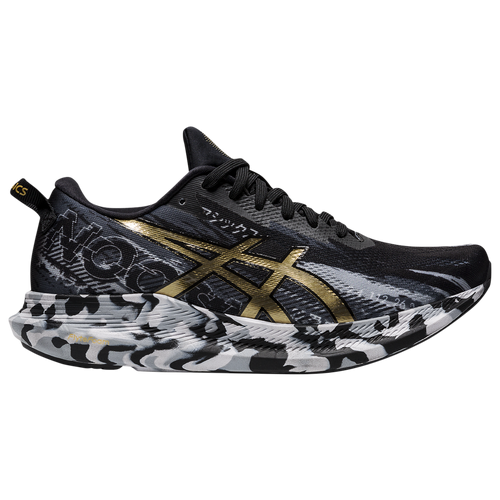 ASICS® Noosa Tri 13 - Women's Running Shoes - Black / Pure Gold - 1012A898.001