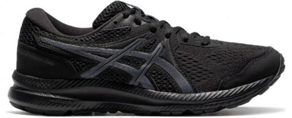 ASICS Womens Gel-Contend 7 Black  Womens WMNS Marathon Running Shoes/Sneakers 1012A911-001 - 1012A911-001