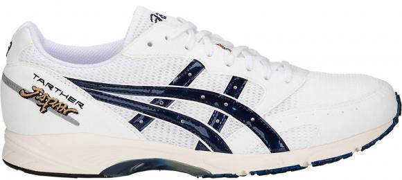 Asics Tarther Japan 'Blue Print' White/Blue Print Marathon Running Shoes/Sneakers 1013A007-100