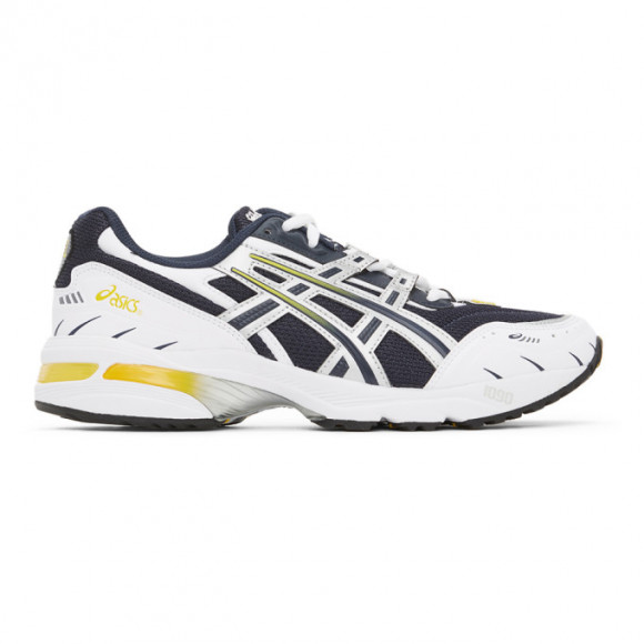 Asics Navy and White GEL-1090 Sneakers - 1021A275