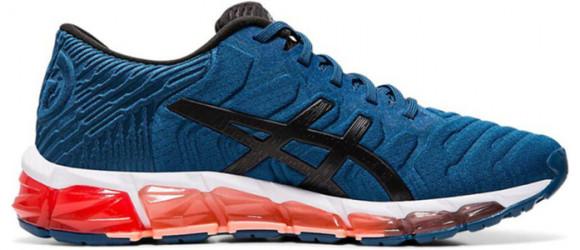 Womens Asics Gel Quantum 360 5 'Mako Blue Red' Mako Blue/Black WMNS Marathon Running Shoes/Sneakers 1022A104-400 - 1022A104-400
