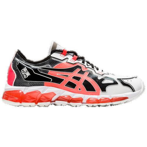 ASICS Tiger GEL-Quantum 360 6 - Women's Running Shoes - White / Sunrise Red - 1022A356.100