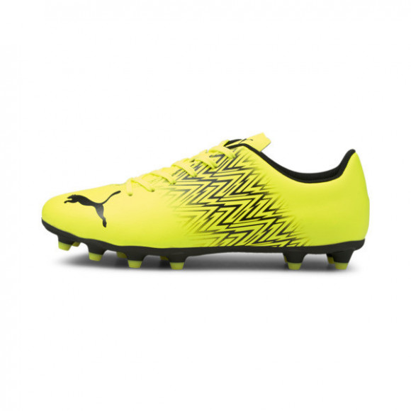 PUMA Tacto FG/AG Men's Soccer Cleats Shoes in Yellow Alert/Black - 106307-01