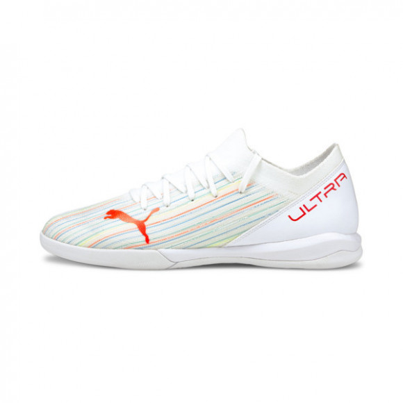 PUMA ULTRA 3.2 IT Men's Soccer Shoes in White/Red Blast/White - 106352-03
