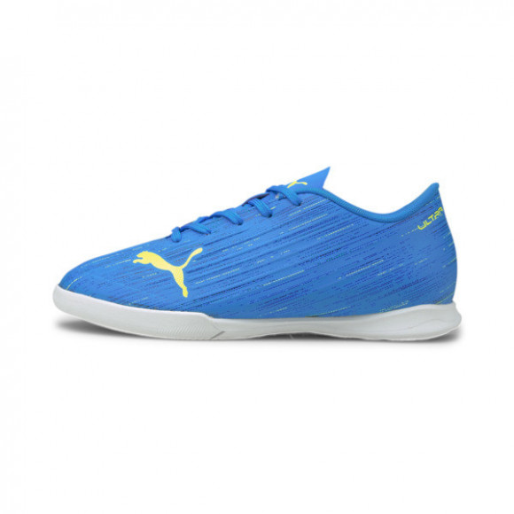 PUMA ULTRA 4.2 IT Soccer Shoes JR in Nrgy Blue/Yellow Alert - 106368-01