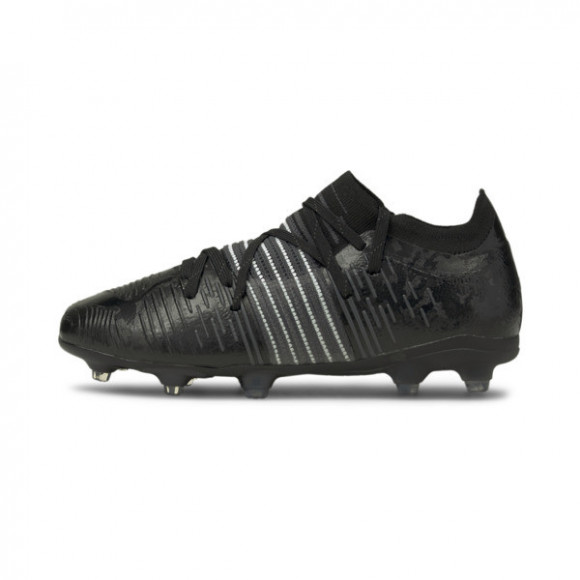 PUMA FUTURE Z 2.1 FG/AG Soccer Cleats JR Shoes in Asphalt Grey - 106394-02