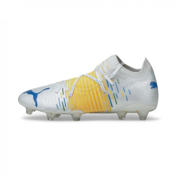 PUMA Neymar Jr FUTURE Z 1.1 FG/AG Men's Soccer Cleats Shoes in Green - 106842-01