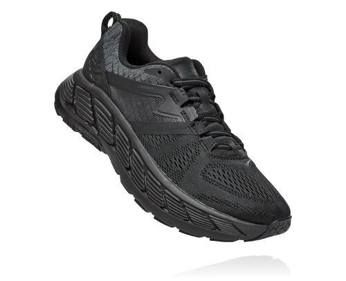 Hoka One One Gaviota 2 BLACK DARK SHADOW,Black - 1099629-BDSD