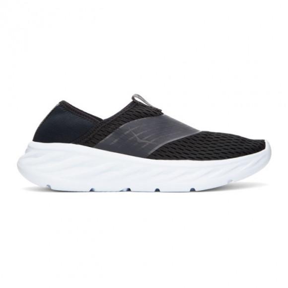 Hoka One One Black Ora Recovery Sneakers - 1099677-BPHN