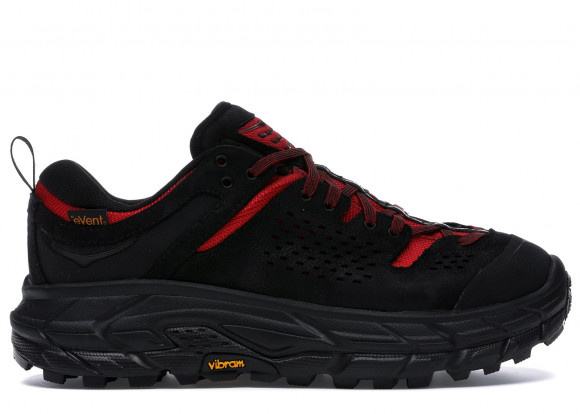 Hoka One One Tor Ultra Low Engineered Garments Black Red - 1102502-BRNR-8