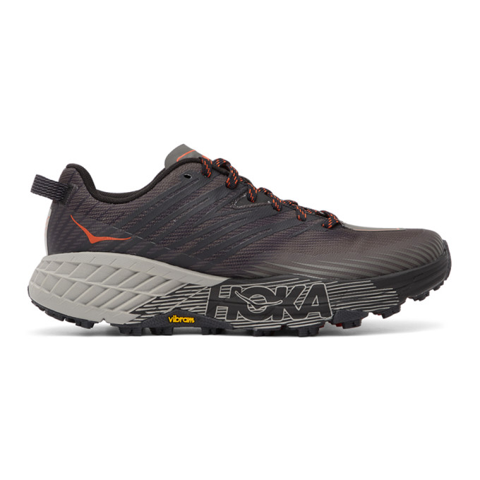 Hoka One One Black Speedgoat 4 Sneakers - 1106525 DGGA