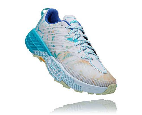 HOKA Men's Speedgoat 4 All-Terrain Running Shoes in Together - 1106525
