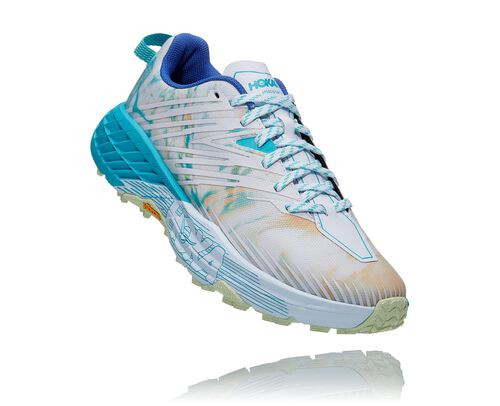 HOKA Women's Speedgoat 4 All-Terrain Running Shoes in Together - 1106527