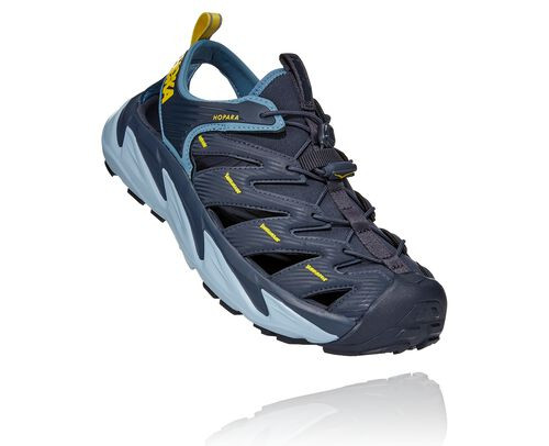 HOKA Men's Sky Hopara Hiking Shoes in Ombre Blue/Provincial Blue, Size 9.5 - 1106534-OBPB