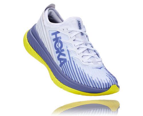 HOKA Carbon X-SPE en White/Blue Ice, taille 38 - 1110512-WBIC