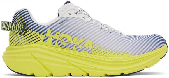 HOKA ONE ONE Rincon 2 - Men's Running Shoes - Blanc De Blanc / Citrus - 1110514-BDBCT
