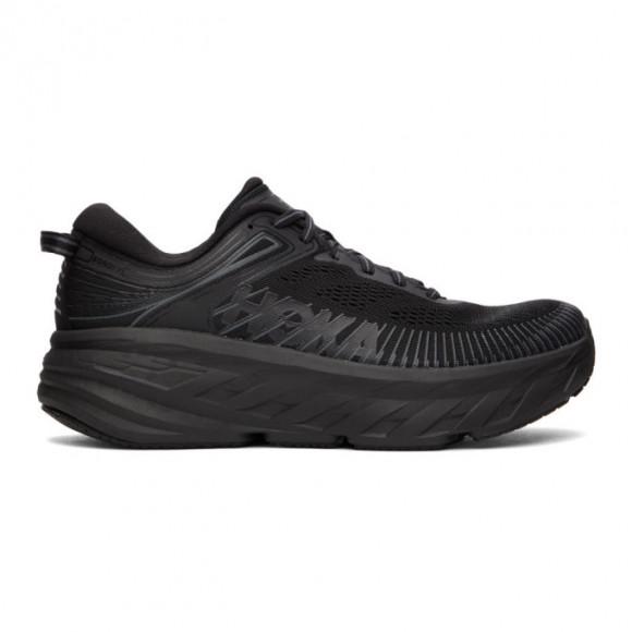 Hoka One One Black Bondi 7 Sneakers - 1110518-BBLC