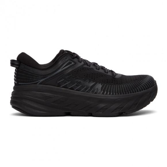 Hoka One One Black Bondi 7 Sneakers - 1110519-BBLC