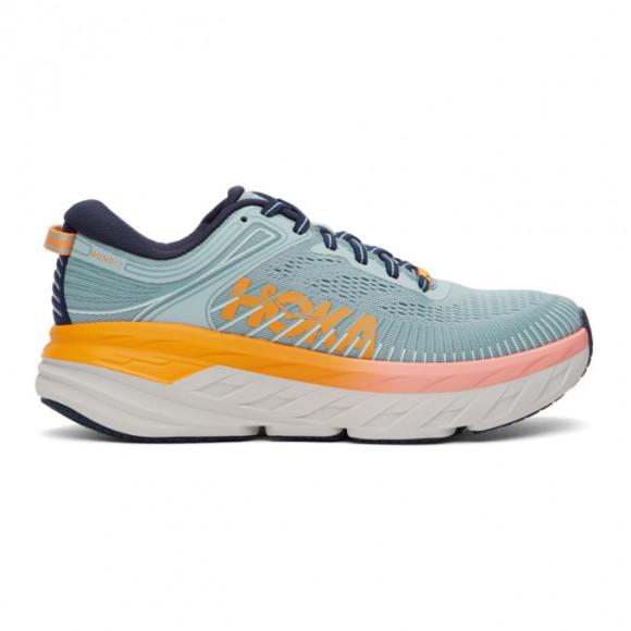 Hoka One One Blue Bondi 7 Sneakers - 1110519-BHBI