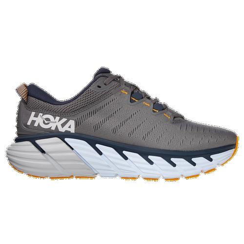 HOKA ONE ONE Gaviota 3 - Men's Running Shoes - Charcoal Gray / Ombre Blue - 1113520-CGOB