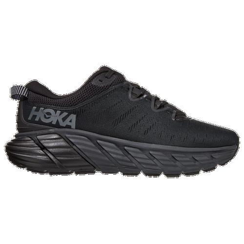 HOKA ONE ONE Gaviota 3 - Women's Running Shoes - Black / Black - 1113521-BBLC