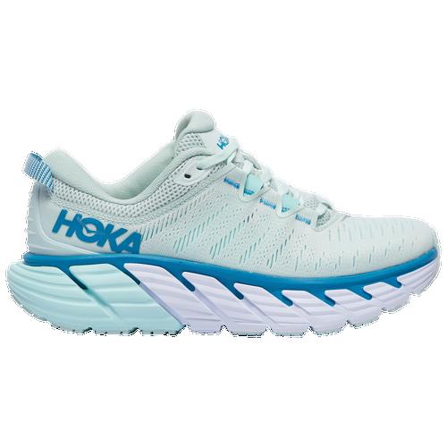 HOKA ONE ONE Gaviota 3 - Women's Running Shoes - Morning Mist / Blue Tint - 1113521-MMBT