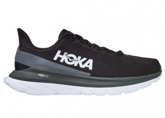 HOKA ONE ONE Mach 4 - Men's Running Shoes - Black / Dark Shadow - 1113528-BDSD