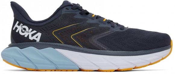 HOKA ONE ONE Arahi 5 - Men's Running Shoes - Ombre Blue / Blue Fog - 1115010-OBBF