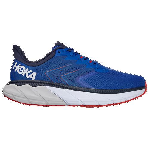 HOKA ONE ONE Arahi 5 - Men's Running Shoes - Turkish Sea / White - 1115011-TSWH
