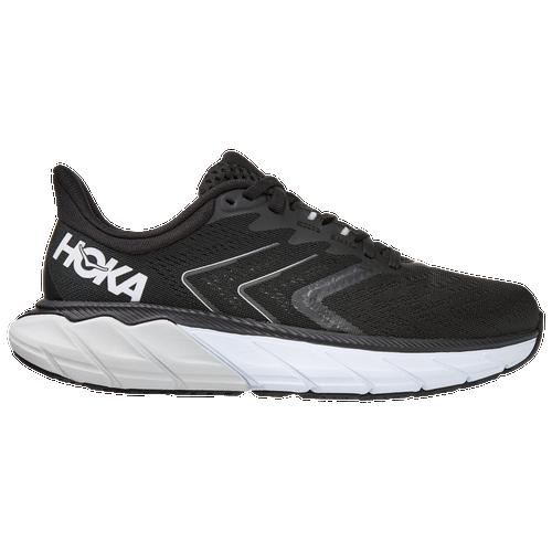 HOKA ONE ONE Arahi 4 - Women's Running Shoes - Black / White - 1115013-BWHT