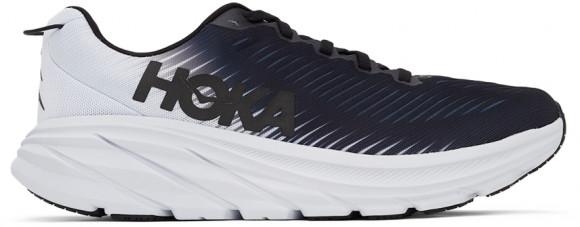 HOKA Men's Rincon 3 Shoes in Black/White - 1119395-BWHT