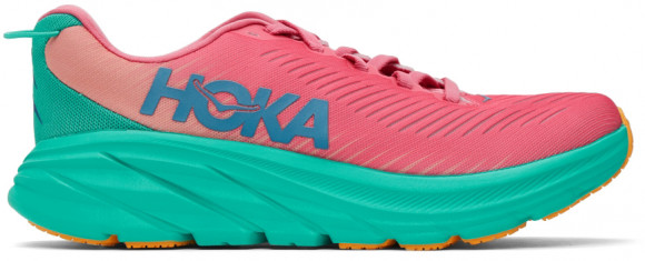 HOKA Women's Rincon 3 Shoes in Phlox Pink/Atlantis - 1119396-PPAT