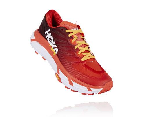 HOKA Mafate Speed 3 Running Shoes in Chocolate Truffle/Fiesta - 1121910-CTFS