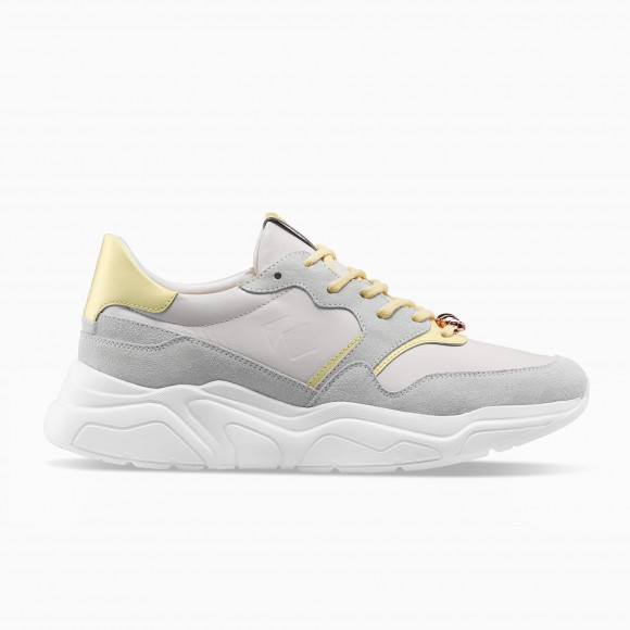 KOIO Men's Koio x Dominique Ansel Grey Yellow Leather Suede Avalanche 9 (US) / 42 (EU) - 1124153819172