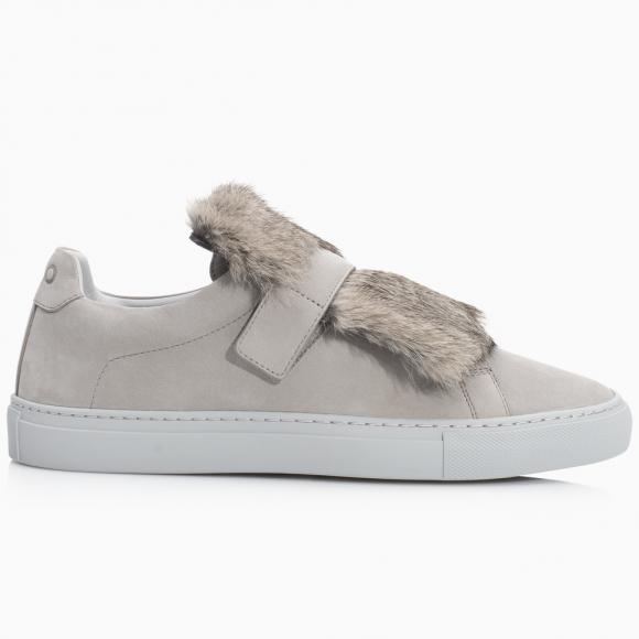 KOIO | Gavia Grey Fur Women's Sneaker 11 (US) / 41 (EU) - 11914586758