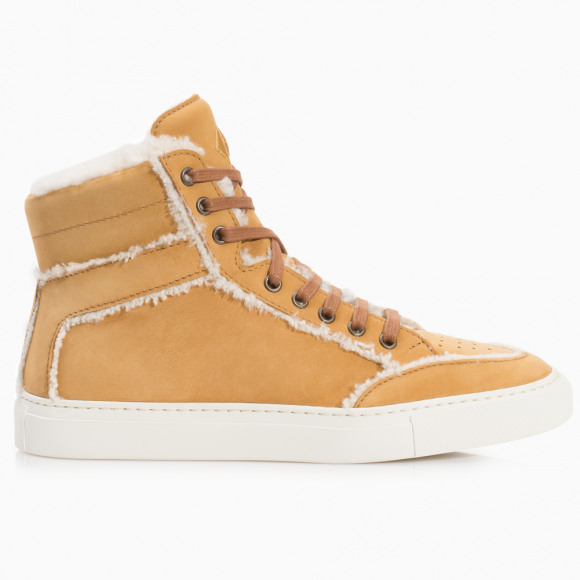 KOIO | Primo Caramel Shearling Women's Sneaker 5 (US) / 35 (EU) - 11914705414