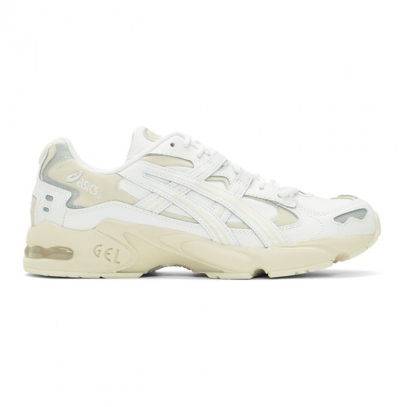 Asics White and Beige Gel-Kayano 5 OG Sneakers - 1191A147.100