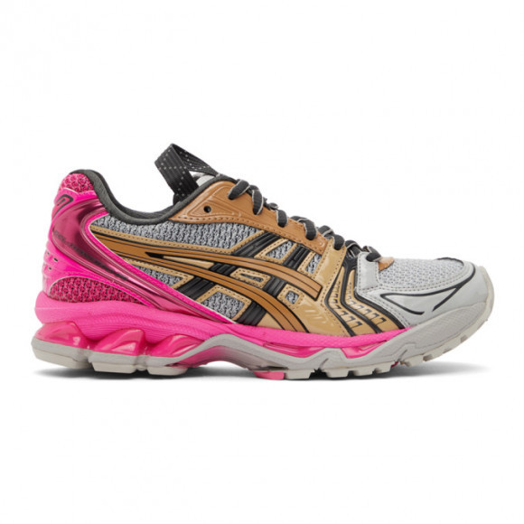 Asics Grey and Pink UB1-S Gel-Kayano 14 Sneakers - 1202A127.021