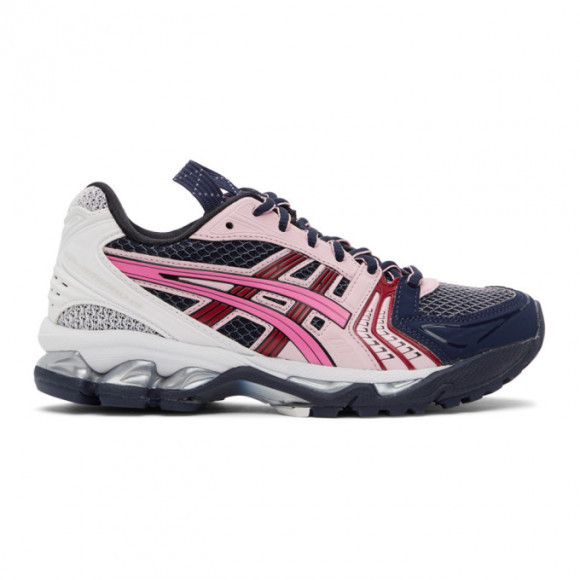 Asics Navy and Pink UB1-S Gel-Kayano 14 Sneakers - 1202a127.400