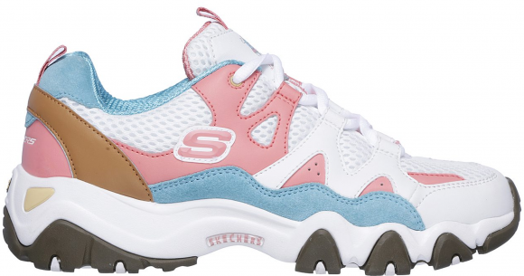 Sketchers D'Lites 2 One Piece Pink (W) - 12977-WPBL