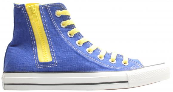 Converse Chuck Taylor All-Star Side Zip Hi Radio Blue Yellow - 142295C