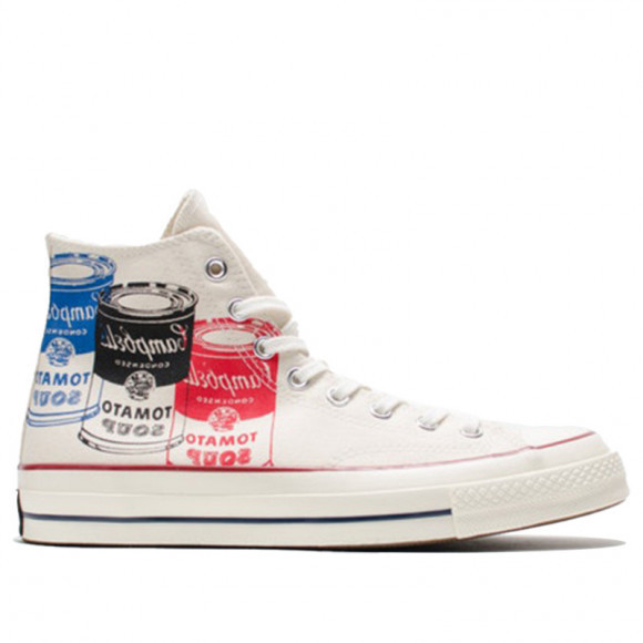 Converse Andy Warhol x Chuck Taylor 70 High 'Campbell's Soup ...