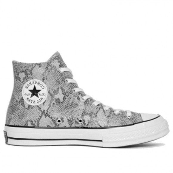 Converse Chuck Taylor All Star 70 Hi 'Snakeskin' Black/Grey/Egret Canvas Shoes/Sneakers 158856C - 158856C