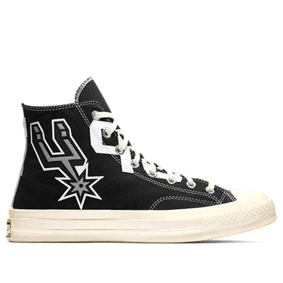 Converse Chuck Taylor All Star High Premium 'San Antonio Spurs' Black/White Canvas Shoes/Sneakers 159410C - 159410C